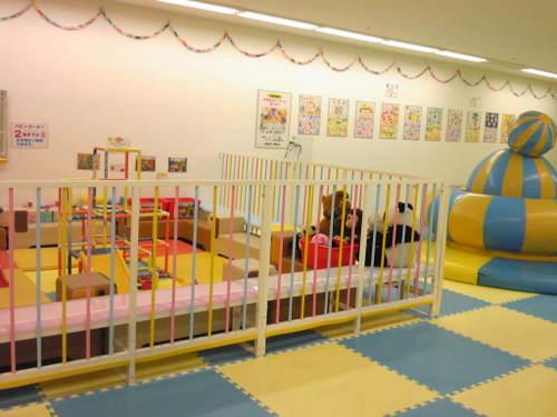 2歳以下の子供スペース