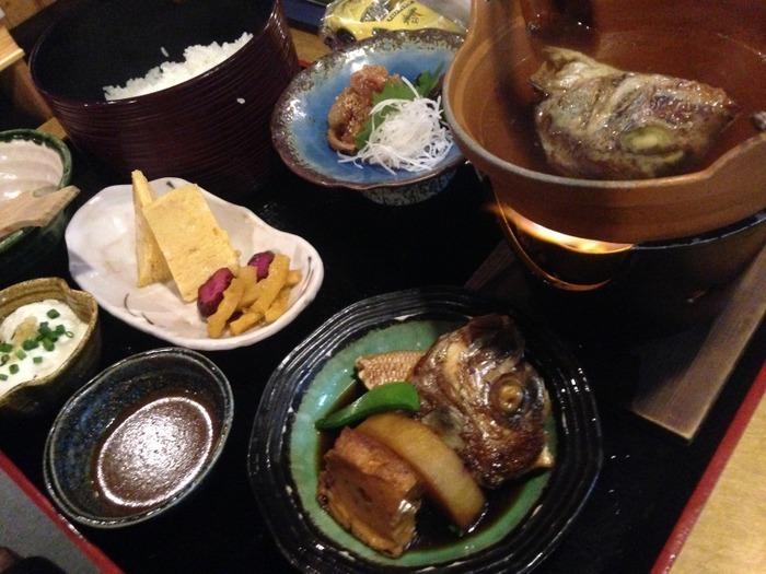 鯛茶漬け定食