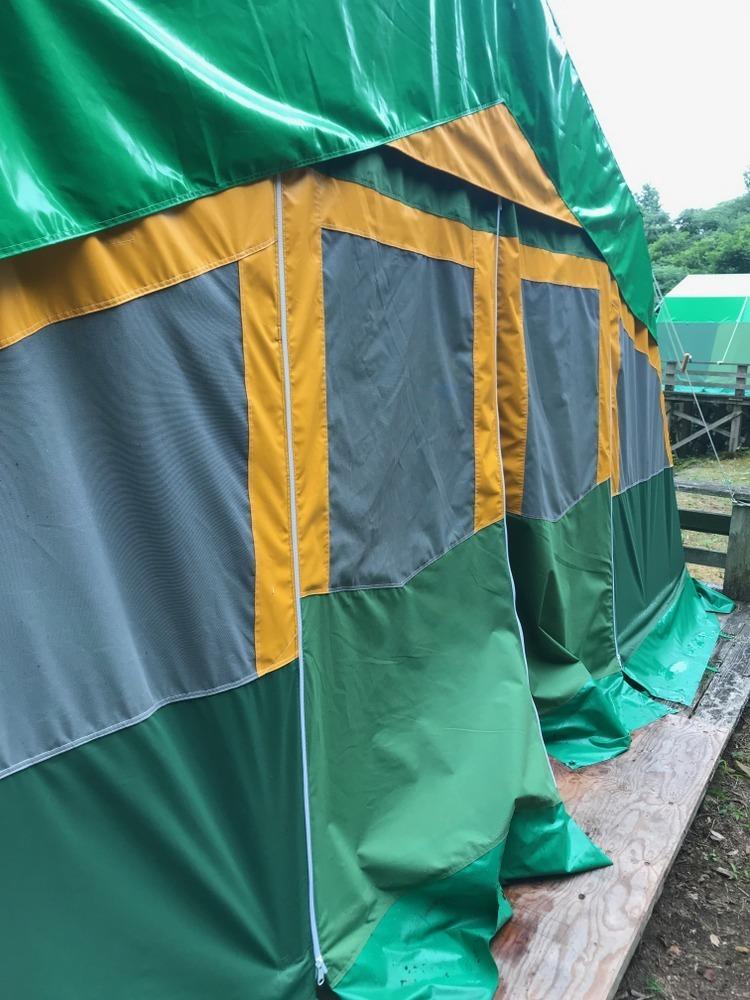 常設テント