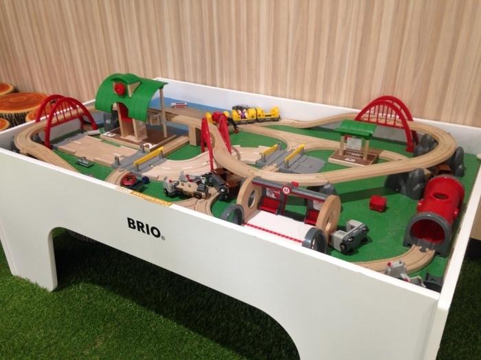 BRIOの木製レール